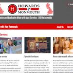 screenshot of website - content creation