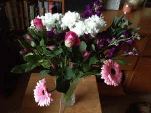 beautiful This testimonial is a bouquet of flowers in a vase