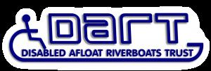 DART Disabled afloat riverboat trust logo - website content