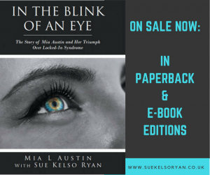 In the blink of an eye on sale now